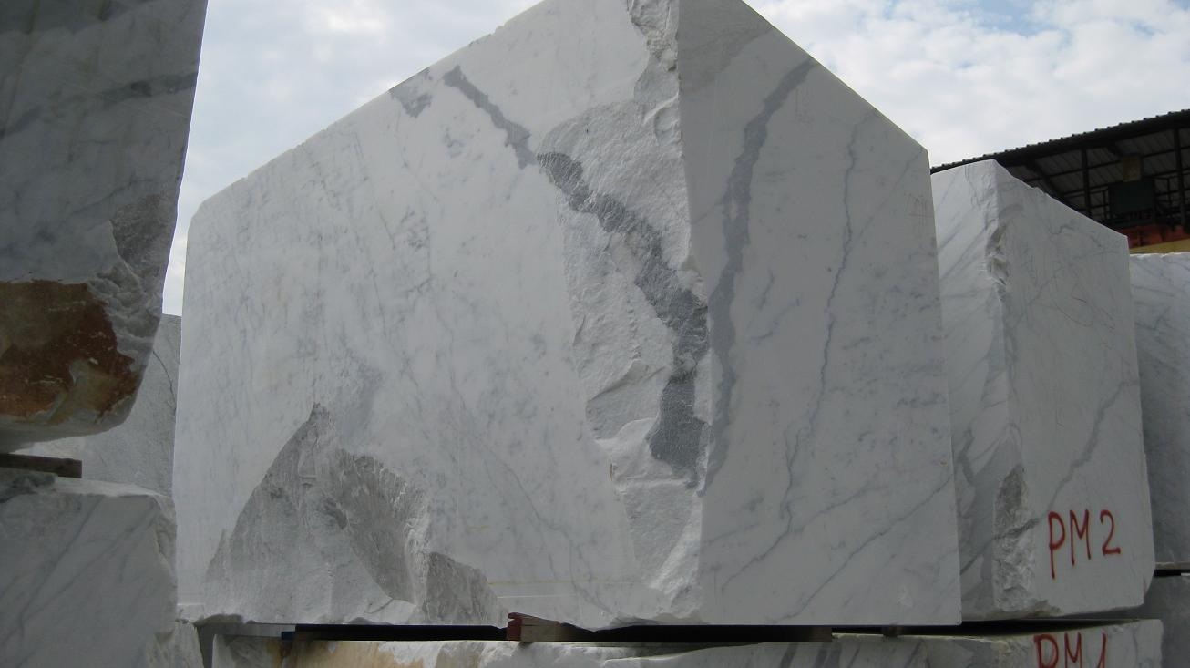 Production Carrara White Marbe Arabescato Statuario