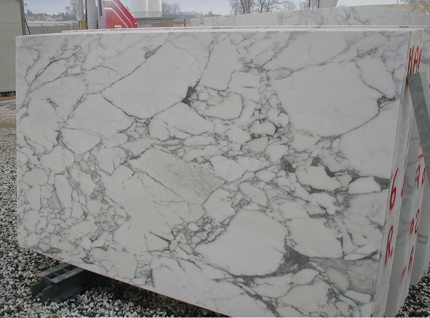 Production Carrara White Marbe Arabescato Statuario